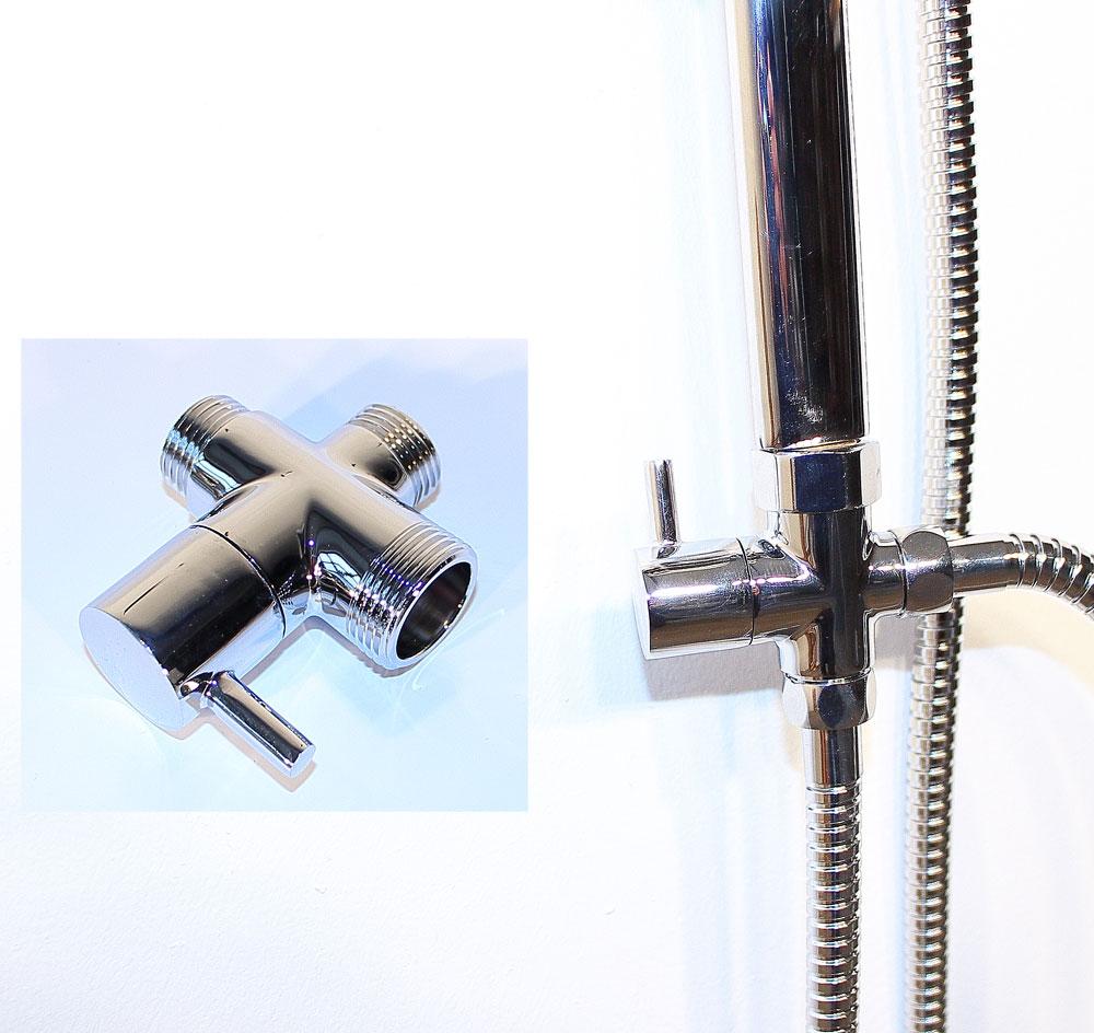 armatur regendusche duschkopf duscharmatur wandarmatur duschpaneel armatur165 ebay. Black Bedroom Furniture Sets. Home Design Ideas