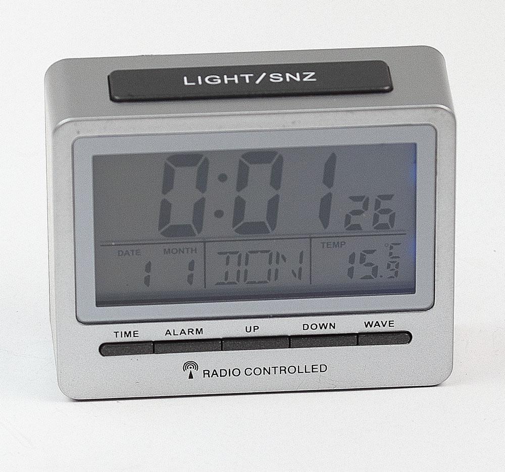 digital watch alarm clock travel table radio s3618d ebay. Black Bedroom Furniture Sets. Home Design Ideas