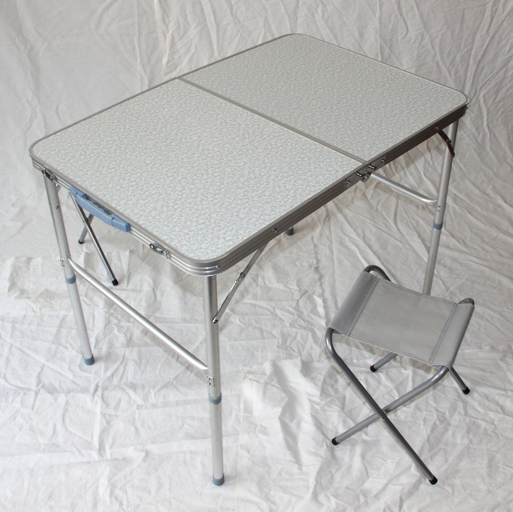 klapptisch campingtisch mit 2 st hle klappstuhl tisch koffertisch tisch 8812. Black Bedroom Furniture Sets. Home Design Ideas