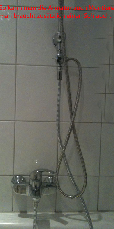 Duscharmatur Montieren : 3-Way Shower Diverter
