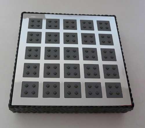 Duscharmatur Schwarz : Details zu Duschpaneel Tropenregen Armatur Duscharmatur in schwarz
