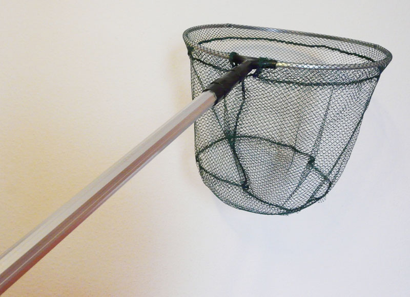 Catcher net landing net telescopic landing net for trout for Telescoping fishing net