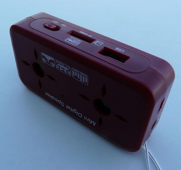akku lautsprecher boxen f r mp3 player und handy in rot ebay. Black Bedroom Furniture Sets. Home Design Ideas