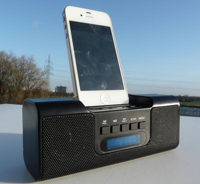 tragbare lautsprecher boxen f r ipone ipod mp3 player handys und pc in schwarz ebay. Black Bedroom Furniture Sets. Home Design Ideas