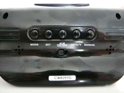 projection alarm clock radio alarm ebay. Black Bedroom Furniture Sets. Home Design Ideas
