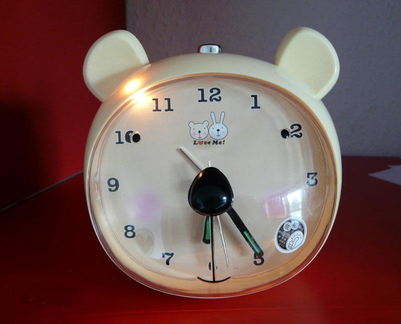 kinderwecker mit elektronisches laufwerk kinder wecker glockenwecker sn snx12 ebay. Black Bedroom Furniture Sets. Home Design Ideas