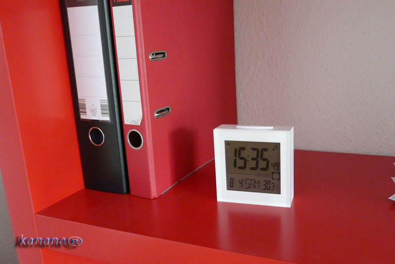 lcd digitaluhr wecker wetterstation uhr tischuhr reiseuhr funkwecker b 3501c ebay. Black Bedroom Furniture Sets. Home Design Ideas